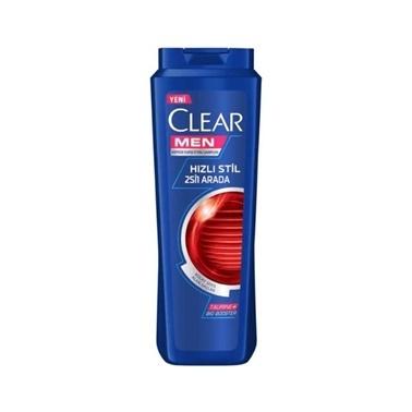 Clear Clear Men Hızlı Stil 2'si 1 Arada Şampuan 500ml Renksiz